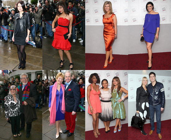 Arrivals at Television And Radio Industries Club (TRIC) Awards 2008