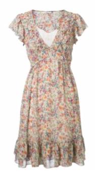 Fab Worthy: Ditsy Print Tea Dress