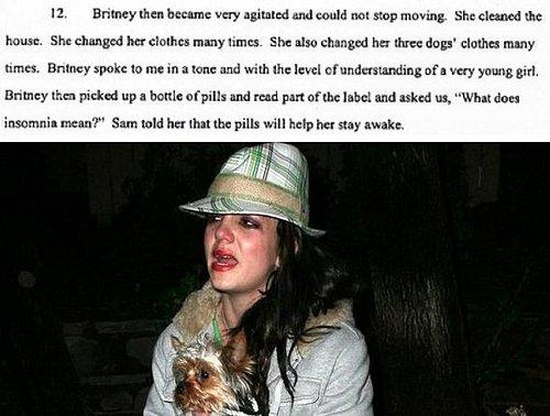 Restraining Order Docs Claim Sam Drugged Britney
