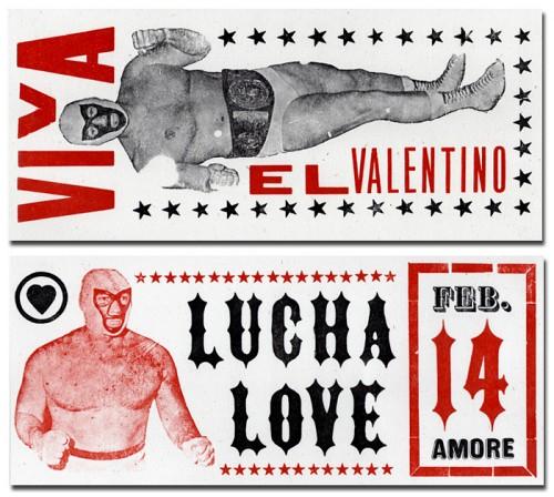 The Card Shop: Wrestler Valentines