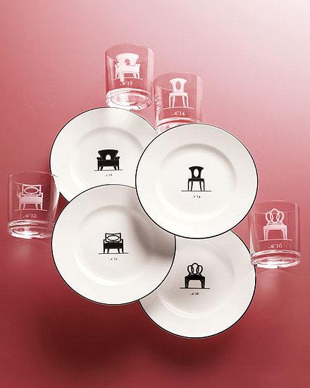 Nice and New: Barbara Barry Barware and Plates