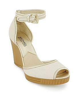 "Macy*s - Shoes - MICHAEL Michael Kors ""Reese"" Ankle-Strap Wedge Sandal"