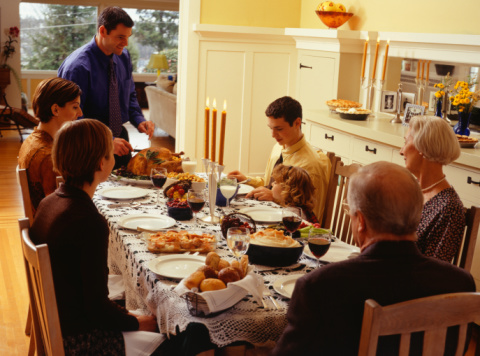 What Was the Most Common Topic of Conversation at Your Thanksgiving Table?