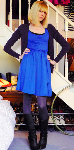 Look of the Day: Badass Blue