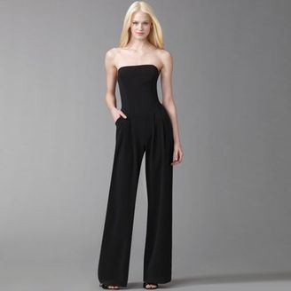 The Look For Less: Black Halo Strapless Jumpsuit