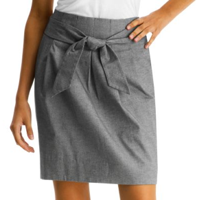 The Look For Less: Kenneth Cole New York Paperbag Skirt