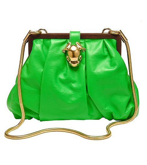 Guess Who Designed This Fluorescent-Green Handbag?