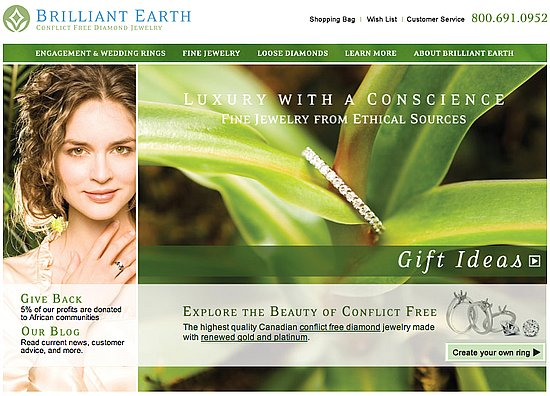 Fab Site: Brilliant Earth