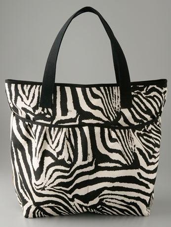 The Bag to Have: Lauren Merkin Animal Print Tote