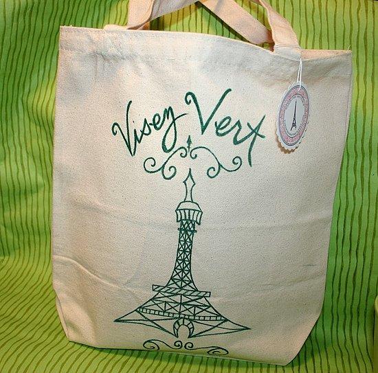 Etsy Find: Visez Vert Market Bag