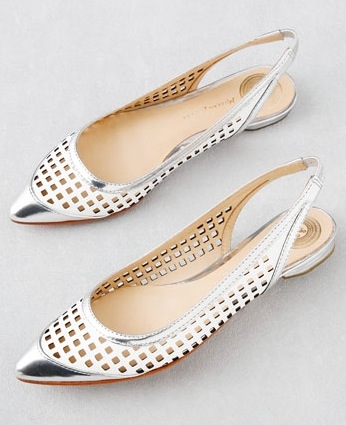 Fab Finger Discount: Modern Vintage Shoes Sling Back Flats