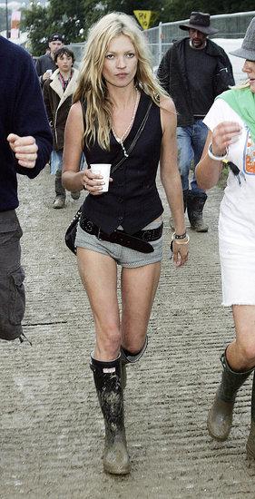 Kate Moss's Glastonbury Style
