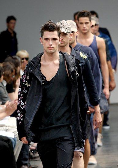 Male Models at Menswear Milan Fashion Week