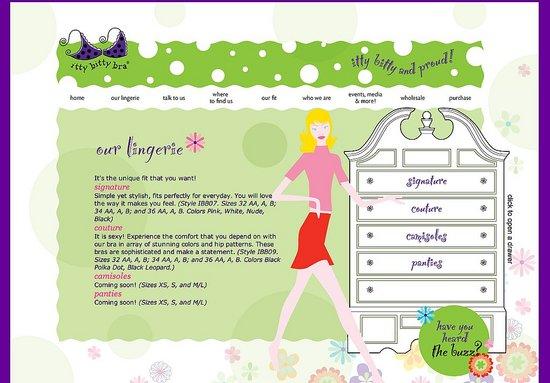 Fab Body Guide: IttyBittyBra.com