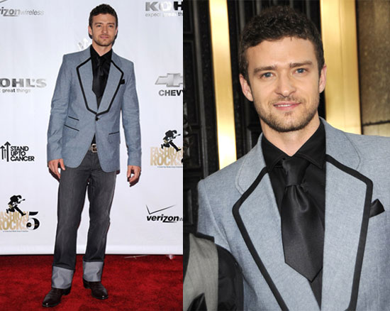 2008 Fashion Rocks: Justin Timberlake