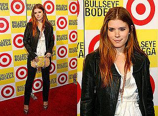 Kate Mara Attends Target Bullseye Bodega in Manhattan