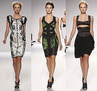 New York Fashion Week, Spring 2009: Narciso Rodriguez