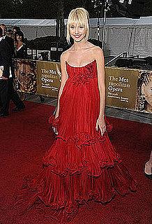 Taylor Momsen Wears Marchesa at Metropolitan Opera's 125th Season Opening Night Gala in NYC