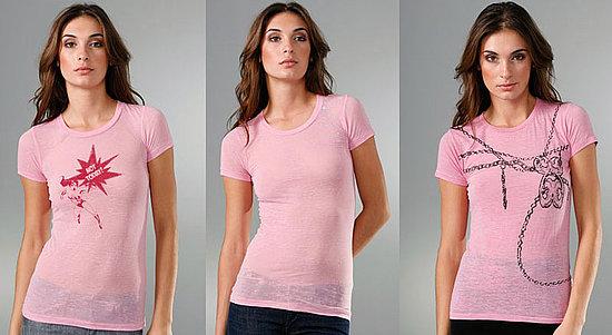 Fabworthy: Bop Basics Celebrity-Designed Breast Cancer Tees
