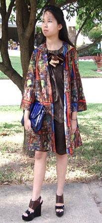 Look of the Day: Eclectic Girl