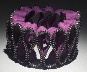 Glitterati: Kate Cusack Zipper Jewelry