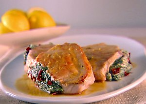... Pork Chops Stuffed With Sundried Tomatoes and Spinach | POPSUGAR Food
