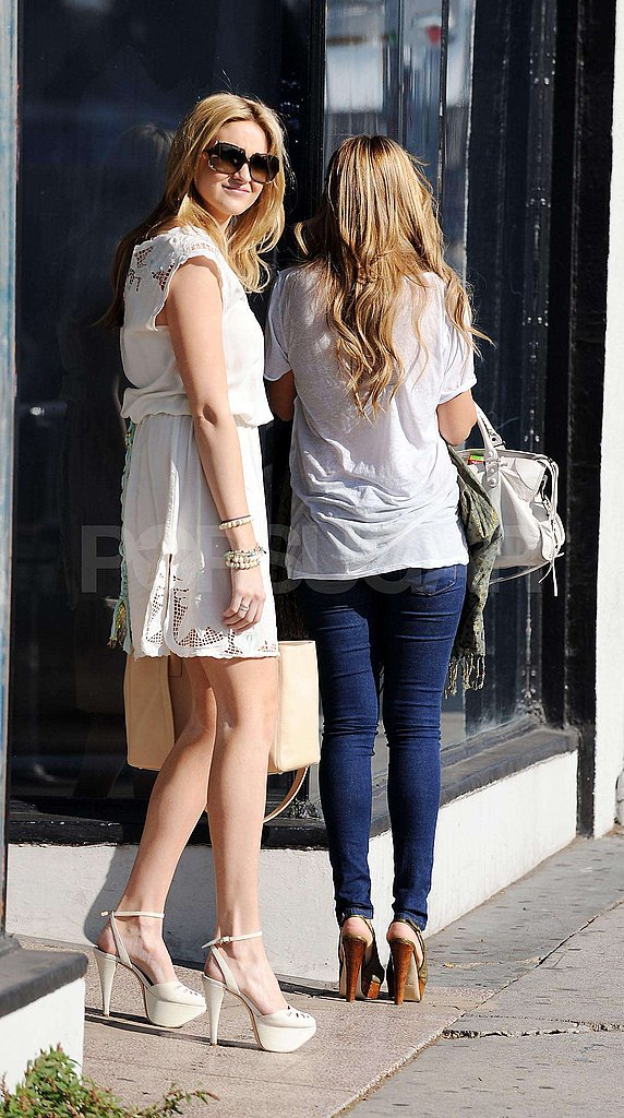 LC and Stephanie Do Lunch