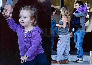 Photos of Pregnant Jennifer Meyer, Tobey Maguire, Ruby Maguire in LA