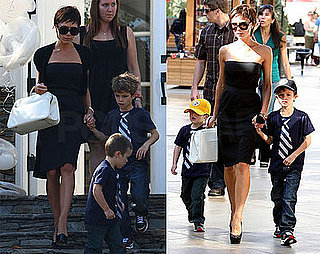 Posh and the Boys Go to Lily's Party