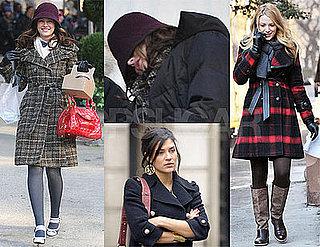 Photos of Gossip Girl Cast Filming in New York City 2009-02-03 17:00:00