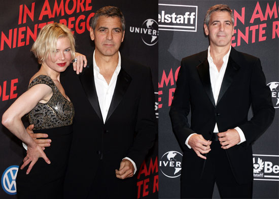 George and Renée Are Red Carpet BFFs by Now