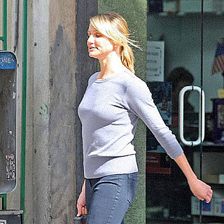 Cameron Diaz on the Set of My Sister's Keeper