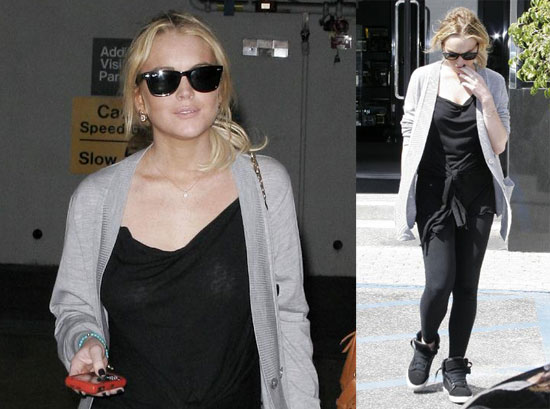 Lindsay Lohan Fights with Ashley Olsen
