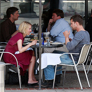 Diane Kruger and Joshua Jackson Have Lunch