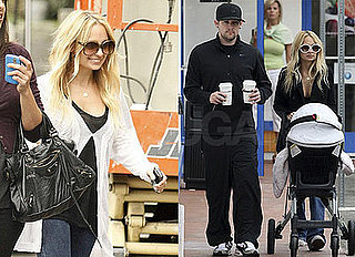 Nicole Richie and Joel Madden Out With Harlow In LA