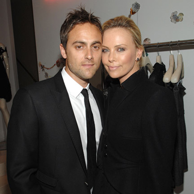 Charlize Theron and Stuart Townsend Party With Stella McCartney