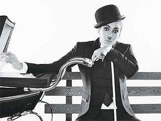 Jessica Alba As Charlie Chaplin in June Allure