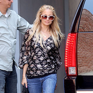 Nicole Richie Goes to Driving School