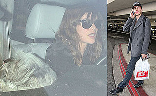 Hayden Christensen Is Picked Up By Rachel Bilson at LAX