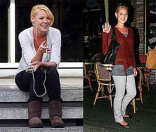 Katherine Heigl Takes a Break from Ugly Truth