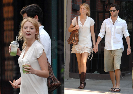 Photos Of Blake Lively And Penn Badgley Holding Hands In Manhattan