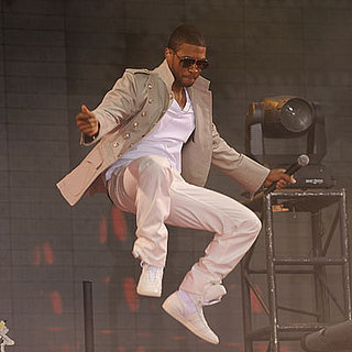 Usher Performs on Good Morning America