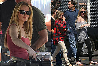 Photos of Lindsay Lohan on the Set of Labor Pains 2008-06-09 16:30:34