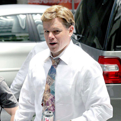 Matt Damon on Set of The Informant 2008-06-12 17:05:34