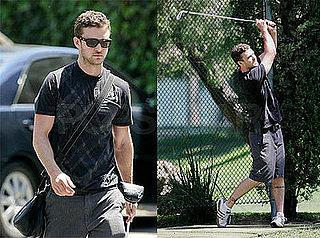 Photos of Justin Timberlake Playing Golf
