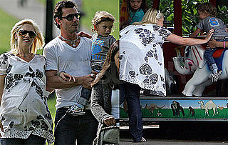 Photos of Kingston Rossdale on the Carousel