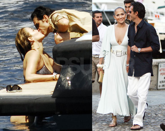 Photos of Jennifer Lopez in a Bikini With Marc Anthony