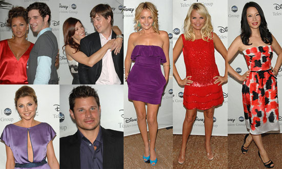 Red Carpet Photos of ABC Stars Including Lucy Liu, Nick Lachey, Kate Walsh