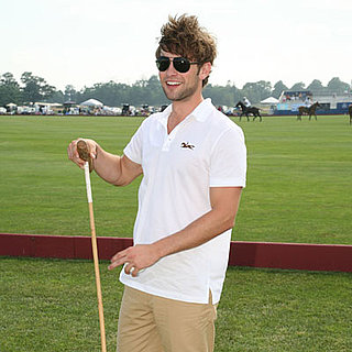 Chace Crawford at Polo