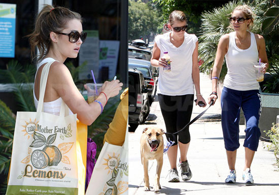 Photos of Lauren Conrad and Lo Bosworth Walking Chloe